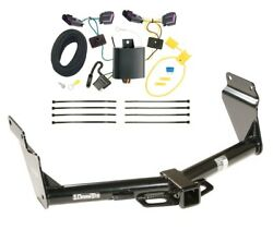 Trailer Tow Hitch For 14-20 Dodge Durango All Styles Receiver + Wiring Harness