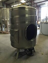 3 Barrel Non Jacketed Single Wall Brite Tank Brewery Stainless Steel