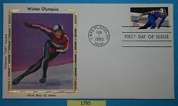 1795 - 1798 set of 4  US First Day Covers fdc   Olympics  Issued Feb 1, 1980