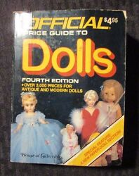 1986 Official Guide To Dolls 4th Ed. Vg Random House Paperback