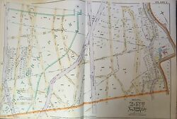 1888 Bronx Ny South Fordham - Mt. Hope Section West Farms Rd-broadway Atlas Map