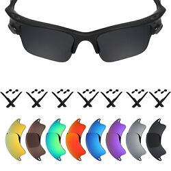 Mryok Polarized Replacement Lenses for-Oakley Fast Jacket XL Sunglasses OO9156