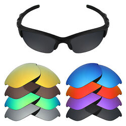 Mryok Anti-Scratch Polarized Replacement Lens for-Oakley Half Jacket 2.0 - Opt.