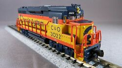 n scale atlas chessie system gp30 dcc