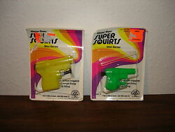 rare new 70 zee toys super squirts water