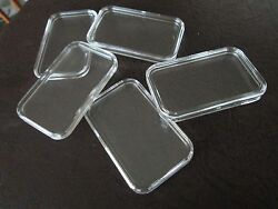 5 X 1oz Guardhouse Direct Fit Silver Bar Holders