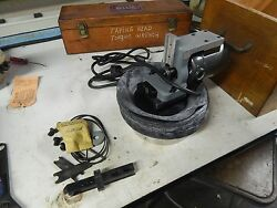 Moore Tools Dumore No. 6069 Slot Grinder 115v Wood Case And Accessories