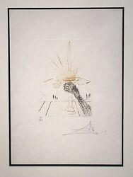 Salvador Dali King John From The Much Ado About Shakespeare Suite