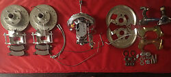 1968 1972 Chevelle Power Front And Rear Disc Brake Conversion 11 Chrome Booster