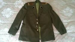 VTG SOVIET RUSSIAN UNIFORM EVERYDAY TUNIC LIEUTENANT COLONEL ARMY SIGNAL CORPS