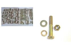 5560pc Grade 8 Fine Thread Bolt Nut Flat And Lock Washer Kit With 2 40 Hole Bins