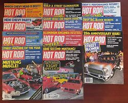 Hot Rod Magazine 1983 - Almost Complete Year 11 Issues - Hots Rods