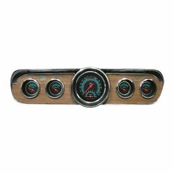Classic Instruments 1967-1968 Ford Mustang Dash Gauge Package - Black - Complete