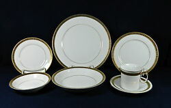 50-pieces Of Elegante Pat 3862 Fine Japanese Gold China Co. China