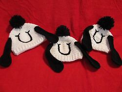 Crochet Happy Snoopy Hat Beanie Made to Order in Baby to Adult Sizes