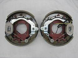 Electric Trailer Brakes Assembly 4 Hole For 8000 Axle 12-1/4x3-3/8 Lh Andrh