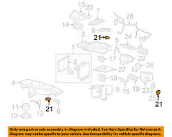 GM OEM-Heater Blend Door Actuator 89018365