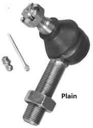 11/16 Rh Tie Rod For Early Ford Street Rods - Pete And Jakes - W/ Jam Nut - Plain