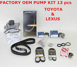 New Toyota Lexus Complete Oem Timing And Water Pump Kit 3.0 1mzfe V6 Not Chinese