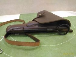 Holster Tt 33 Tokarev Original Leather And Safety Strap And Clean Out Ramrod
