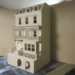 1/12 Scale Dolls House The Sussex 9 Room Dolls House Kit By Dhd