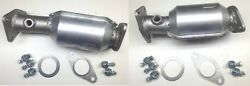 Aftermarket Xterra 4.0l Pair Of Front Catalytic Converters 2005-2010 10h43-220/2