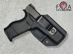 Tuckable Concealment Inside the Band Kydex Holster  With Metal belt clip.