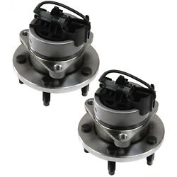 2pc Set Front Wheel Hub And Bearing Fits Cobalt Hhr Ion G5 Pursuit Fwd Abs