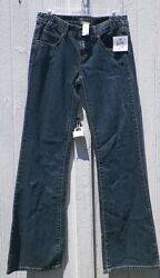 Size 26 Waist Denim Blue Jeans Tex By Max Azria Flared 5 Pockets New With Tags