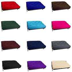 Comfort 6 Inch Thick Futon Mattress Mattresses Bed Cotton And Foam Full Queen Size