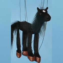 Baby Black Horse Marionette Wb352b 16 Free Shipping In Usa Sunny Puppets