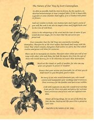 Book Of Shadows Spell Pages The Nature Of Our Way Wicca Witchcraft Bos