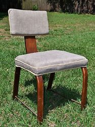 """The Herman Miller Furniture Company """"the Authentic Line"""" Chair W/ New Upholstery"""