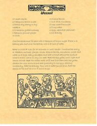 Book Of Shadows Spell Pages Recipes For Yule Wicca Witchcraft Bos