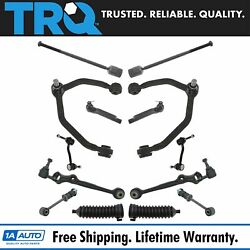 Trq 14 Piece Steering Suspension Kit Lh Rh Set For 93-97 Thunderbird Cougar