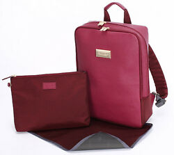 SUAVE LAMAN Estrellah Nappy bag Backpack(Burgundy)