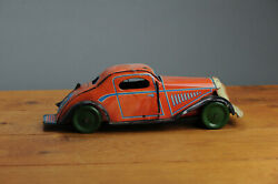 Antique Tin Toy Mettoy Limousine Wells Car Pre War United Kingdom Rare Working