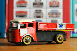 Antique Red China Tin Toy Mf936 Dump Truck Dongfeng Shanghai Me Ms Old