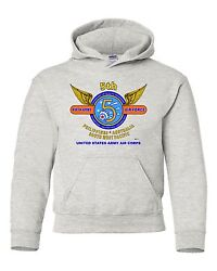 5th Army Air Force Philippinesaustralia Sw Pacific Campaign Hoodie W/pockets