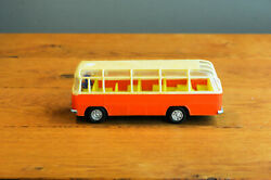 Antique Tin Toy Hong Kong Mercedes Benz School Bus Mf 887 Friction Works