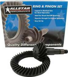 Allstar Performance All70126 Ring And Pinion 4.111 Ratio Gm 8.5 Gear Sets Blac