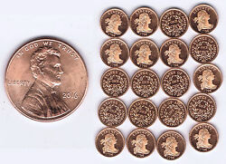 Wholesale Usa 1796 Draped Bust Cent X 20 Pieces Franklin Mint High Quality Minis