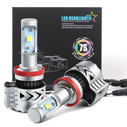 JDM ASTAR 2x 8000lm 7S H11 H8 H9 6000K White LED Headlight Conversion Kits Bulbs