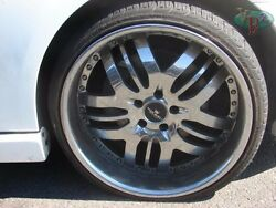Mercedes Cls500 Cls550 Cls 20 In Makaveli 4 Rims And Michelin Tires 255/30/zr20