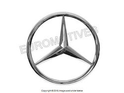 Mercedes r129 (96-01) Grille Center Star emblem OEM SL-class radiator badge