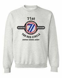 71st Infantry Division The Red Circle Battle And Campaign Sweatshirt