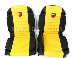 Fiat 500 Abarth Anatomical Yellow Seat Covers New