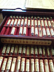 Genuine Hamilton Watch Parts From Vintage Watchmakerand039s Material Case Select One