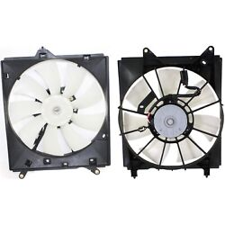 Radiator Cooling Fan W/ A/c Condenser Fan For 2000-2004 Toyota Avalon Lh And Rh