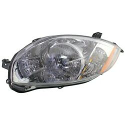 Headlight For 2007-2010 2011 2012 Mitsubishi Eclipse Left With Bulb